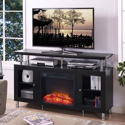 Arcturus 60 TV Stand with Fireplace