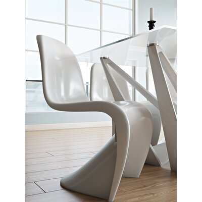 Ezra Side Chair Finish: White