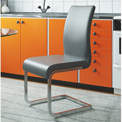 Colt Side Chair Upholstery: Gray