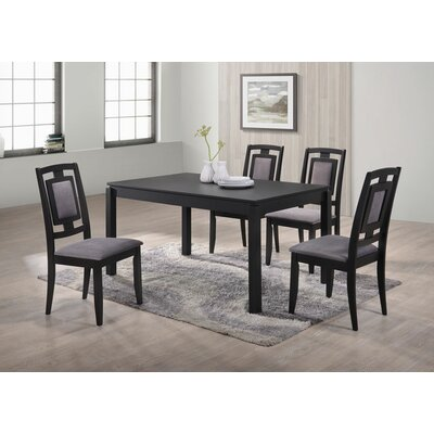 Bulluck 5 Piece Dining Set
