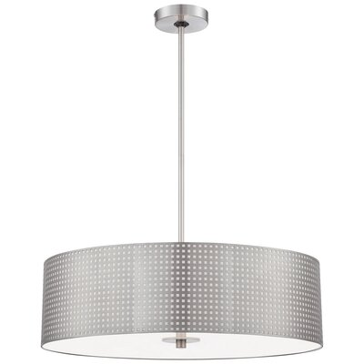 Mancos 1-Light Drum Pendant Size: 12 H x 16 W x 16 D