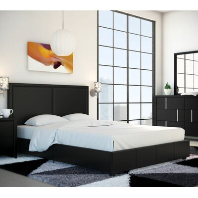 Alvin Upholstered Platform Bed Size: Queen