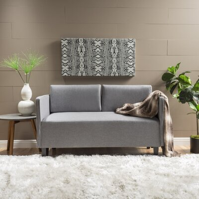 Matias Loveseat Upholstery: Gray