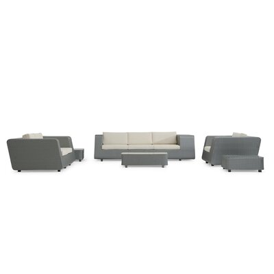Aideen 6 Piece Deep Seating Group with Cushion