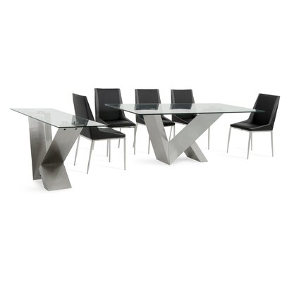 Cargo Stainless Steel Dining Set