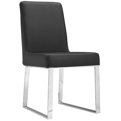 Mariscal Side Chair (Set of 2) Side Chair Upholstery: Black