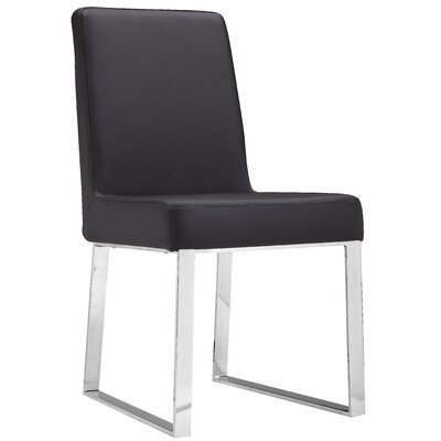 Mariscal Side Chair (Set of 2) Side Chair Upholstery: Brown
