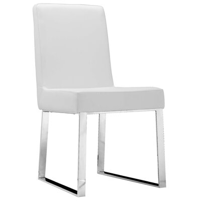Mariscal Side Chair (Set of 2) Side Chair Upholstery: White