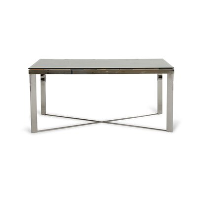 Marden Rectangular Wood Mosaic Dining Table