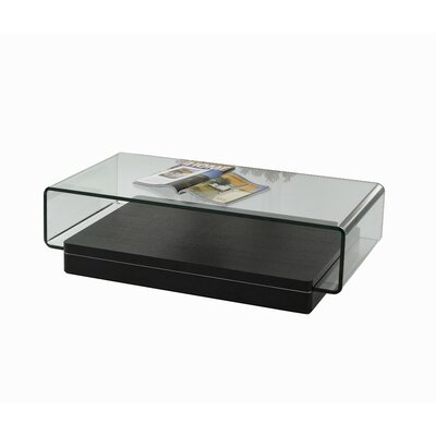 Camron Wood Base Coffee Table