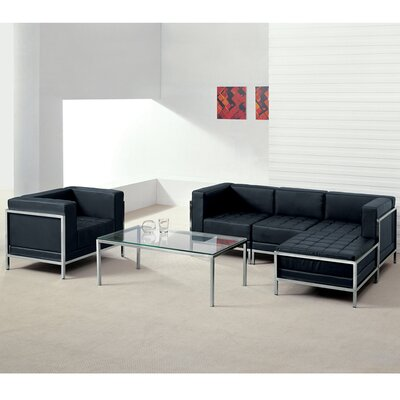 Tomica Leather Configurable Living Room Set