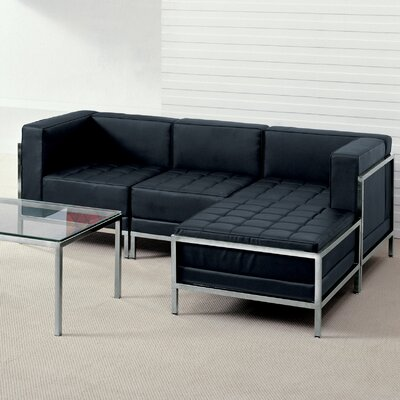 Tomica Leather Modular Sectional