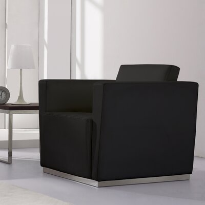 Hypnos Leather Lounge Chair