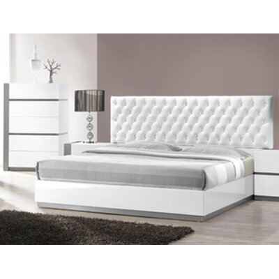 Kajal Upholstered Platform Bed Size: King