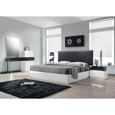 Linehan Platform 5 Piece Bedroom Set Size: California King