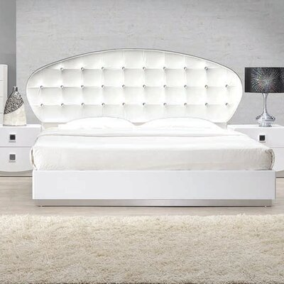 Rachna Upholstered Platform Bed Size: King