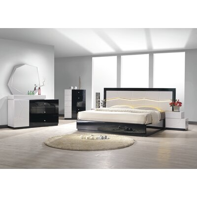 Jinn Platform Configurable Bedroom Set