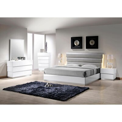 Langridge Platform Customizable Bedroom Set