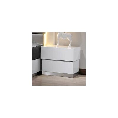 Langridge 2 Drawer Nightstand
