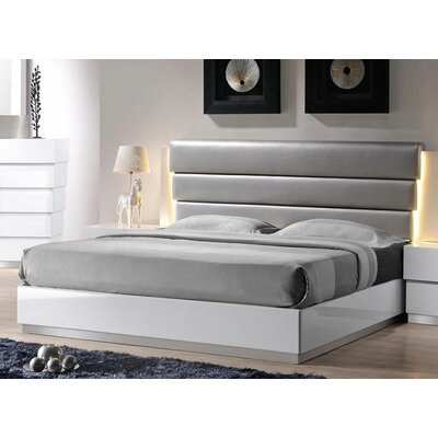 Langridge Upholstered Platform Bed Size: California King