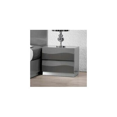 Moumoune 2 Drawer Nightstand