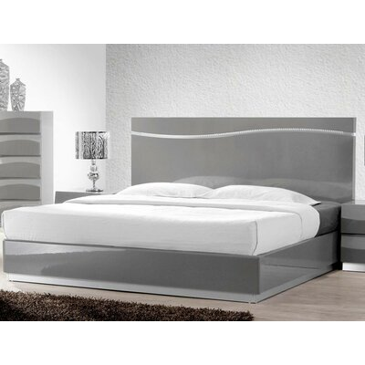 Moumoune Platform Bed Size: California King