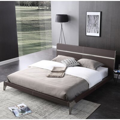 Amersfort Platform Bed Size: King