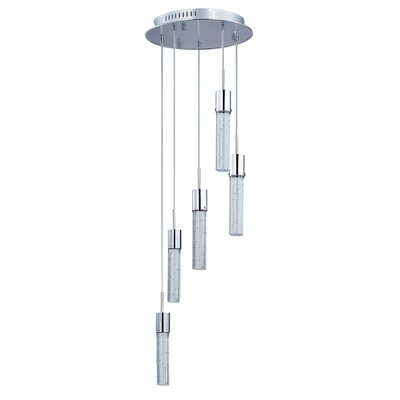 Saturn 5-Light LED Pendant