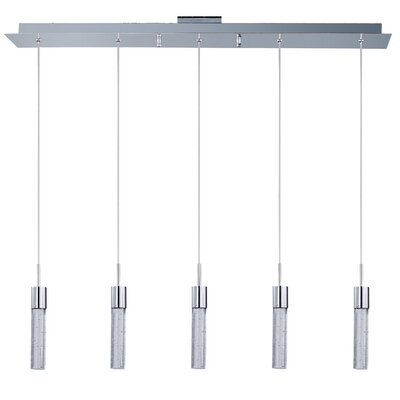 Saturn 5-Light Kitchen Island Pendant