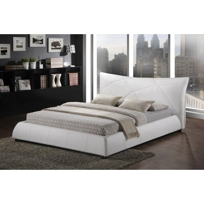 Miranda Upholstered Platform Bed Size: Queen