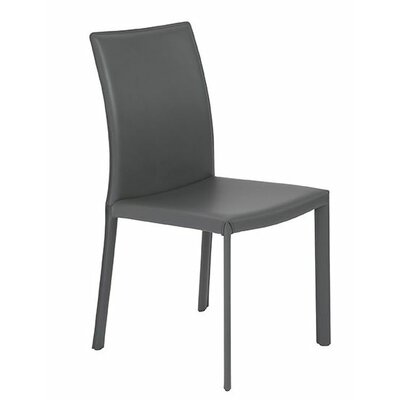 Arevalo Upholstered Side Chair Upholstery: Gray