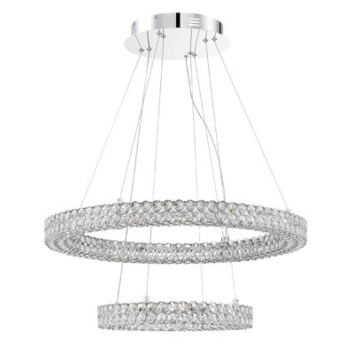 Coletta Contemporary Crystal Pendant