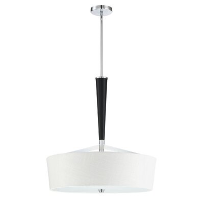 Cedarvale 4-Light Drum Pendant