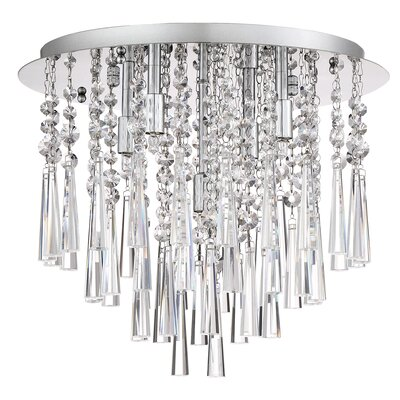 Coletta 5-Light Metal Flush Mount