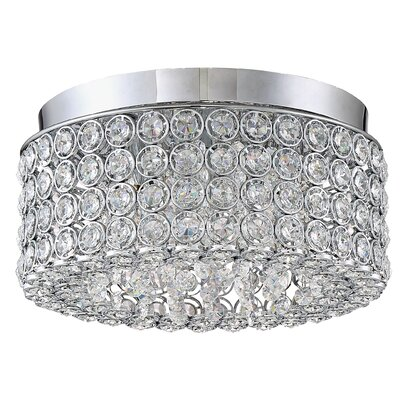 Coletta Contemporary 4-Light Flush Mount