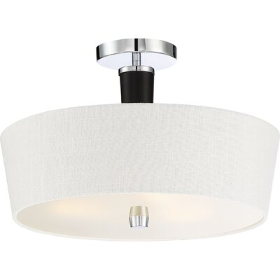 Cedarvale 3-Light Semi Flush Mount