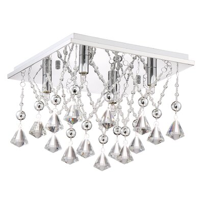Coletta 4-Light Flush Mount