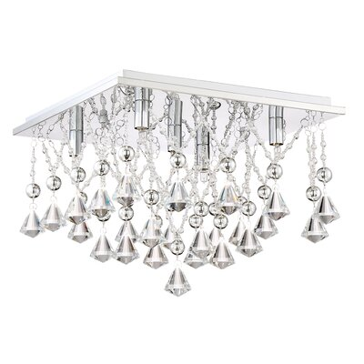 Coletta 5-Light Flush Mount