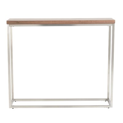 Mccoy Console Table Finish: Walnut