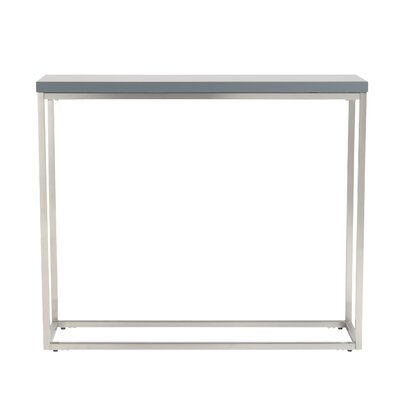 Mccoy Console Table Finish: Gray