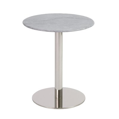 Balke Contemporary End Table Color: Chrome