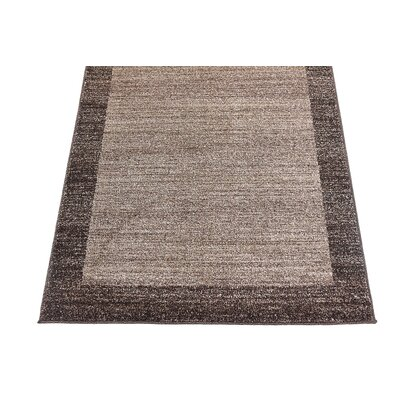 Christi Brown Area Rug Rug Size: Rectangle 6 x 9