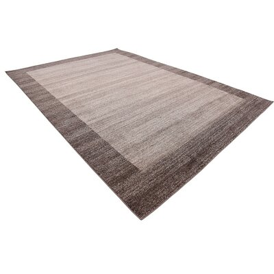 Christi Brown Area Rug Rug Size: Rectangle 8 x 114
