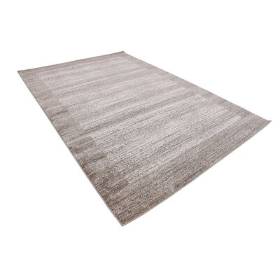 Gutzman Beige Area Rug Rug Size: Rectangle 6 x 9