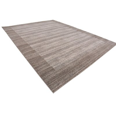 Gutzman Beige Area Rug Rug Size: Rectangle 10 x 13