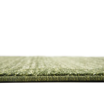 Napoli Green Area Rug Rug Size: Rectangle 6 x 9
