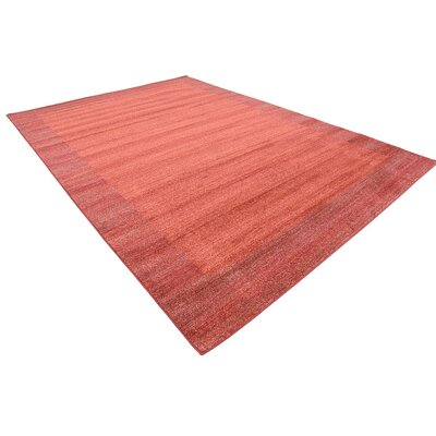 Gutzman Terracotta Area Rug Rug Size: Rectangle 8 x 114