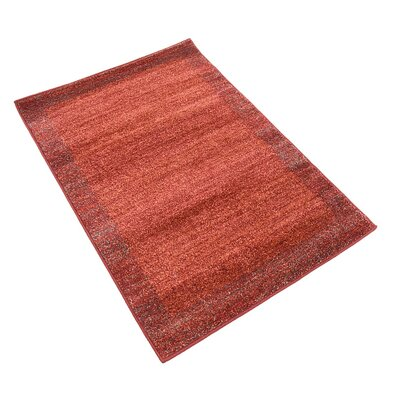 Napoli Terracotta Area Rug Rug Size: Rectangle 22 x 3