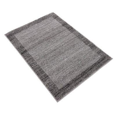 Christi Gray Area Rug Rug Size: Rectangle 2 x 3