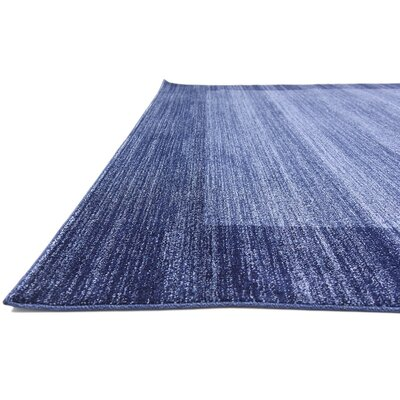 Britton Navy Blue Area Rug